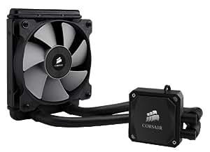 Corsair Hydro H60 CW-9060007-WW Sistema di Raffreddamento a Liquido per CPU, All-in-One High Performance, Radiatore da 120 mm, Nero