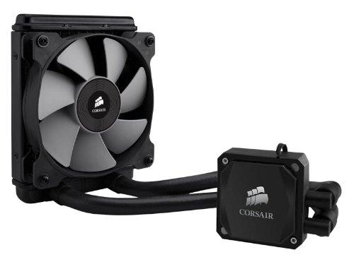 Corsair CW-9060007-WW Hydro Series Wasserkühler (H60 mit Kühlmittel, 120 mm High Performance CPU) schwarz