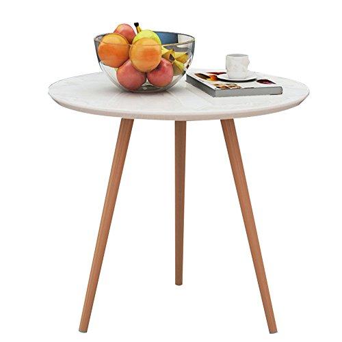 HAIPENG Kleiner Tisch Klein Beistelltisch Runden Kaffee Side End Tabellen Für Kleine Räume Ecke...