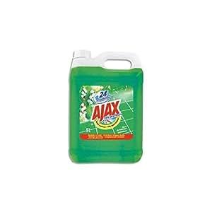 AJAX Bidon de 5 litres nettoyant parfum fleurs de printemps/ brassé de fleurs