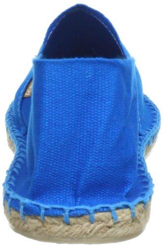 Espadrij Unisex Schuhe Damen und Herren, Classic, Gemütliche, Klassische Espadrilles Aus Canvas mit Wasserabweisender Jutesohle Turquoise
