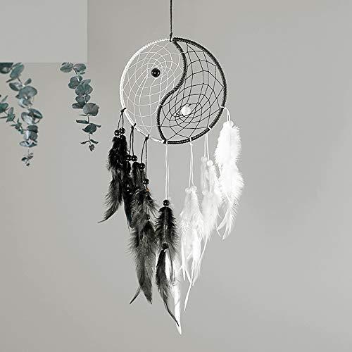 HEOLI Traumfänger Yin Yang Tai Chi Wind Chime Garten Wohnkultur Hängende Verzierung Geschenk