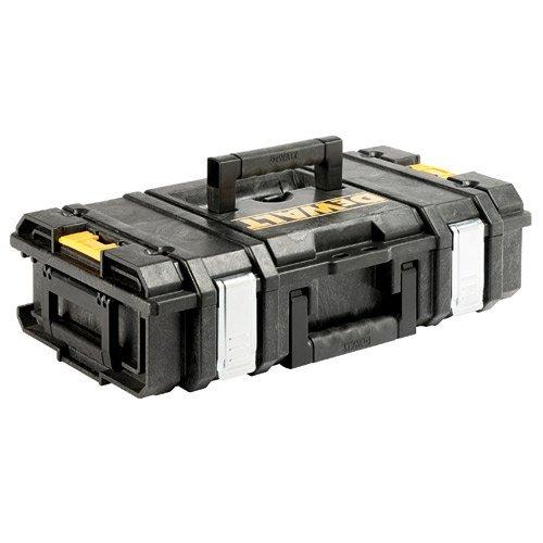 DeWALT Maletín DS150(1-70-321)  Clips laterales de plástico de ingeniería permite la capacidad de apilamiento con otras cajas Al llevar las cajas de herramientas a mano, sino que también se pueden fijar juntos, lo que les permite ser transportados c...
