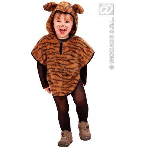 Kostüm Jungle Zubehör Girl - Widmann-WDM5930G Kostüm für Mädchen, braun, WDM5930G