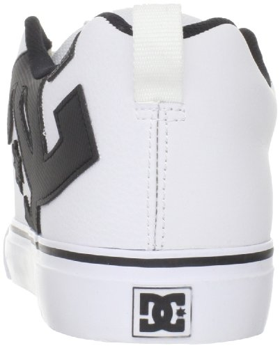 DC Shoes Court Vulk, Chaussures basses homme Bianco (Weiss (WHITE/BLACK WBKD))