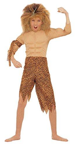 Kinder Explorer Kostüm - Widmann 1764-Jungen Der Dschungel, braun/pink, 128cm, 5-7Jahre