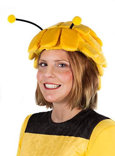 Maskworld Biene Maja Kopfbedeckung - Tierkostüm - Kostümzubehör