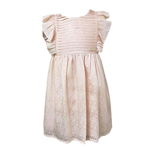 LIU JO Vestito Bambina K17035 Rosa Abito Primavera/Estate 3 ANNI