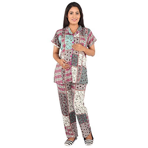 Vixenwrap Multicolor Top & Pyjama Set