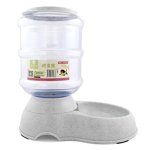 PEGASUS Automatic Cat Feeders Pet Self Feeders Dog Feeding Bowls Safety Non Batteries 3.5L