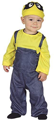 Fancy Me Kostüm für Babys, Mädchen, Jungen, gelb, Film Miner
