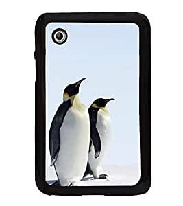 Penguins Pair 2D Hard Polycarbonate Designer Back Case Cover for Samsung Galaxy Tab 2 :: Samsung Galaxy Tab 2 P3100