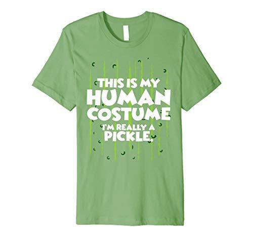 (I 'm Pickle Halloween-Kostüm Shirt Easy Funny Frauen Herren Kinder)