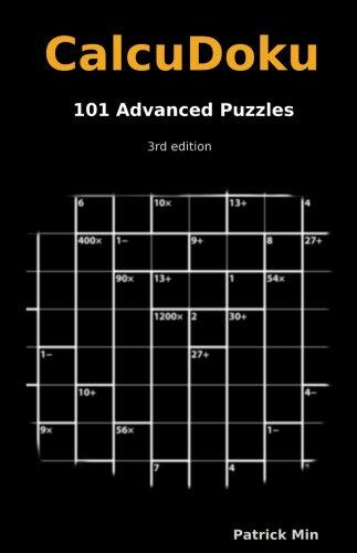 Calcudoku, 101 Advanced Puzzles