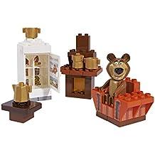 Masha y el Oso - Salón, color marrón / blanco / naranja (Simba/Big 800057093)