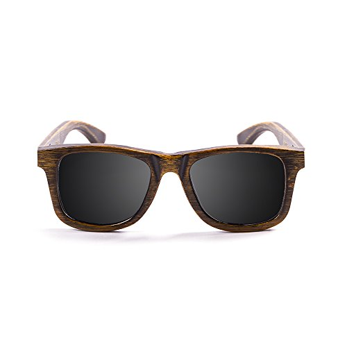 OCEAN SUNGLASSES - wood Victoria - lunettes de soleil polarisÃBlackrolles en Bambou - Monture : Noir - Verres : FumÃBlackrolle (53002.01)