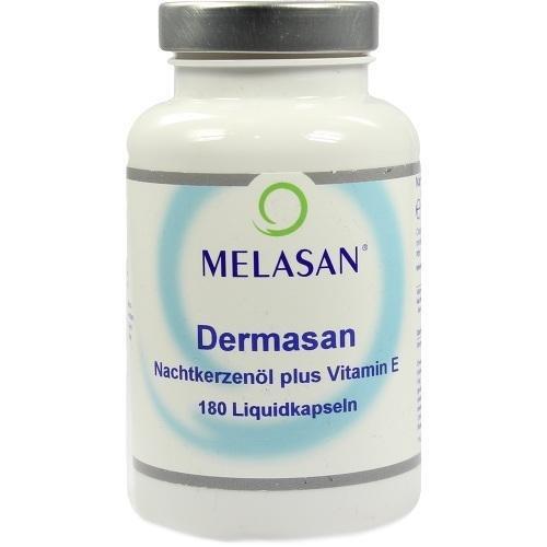 NACHTKERZENÖL 500 mg+Vitamin E Melasan Kapseln 180 St Kapseln