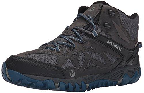 Merrell All Out Blaze Vent Mid avvio escursioni impermeabile Grey/Multi
