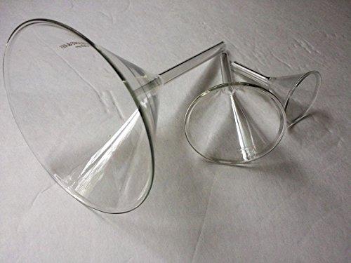 Glas Trichter Lab Vorbau separatory Mess-Set von 3Größe 40mm 60mm 100mm (Vorbau Mm 100)