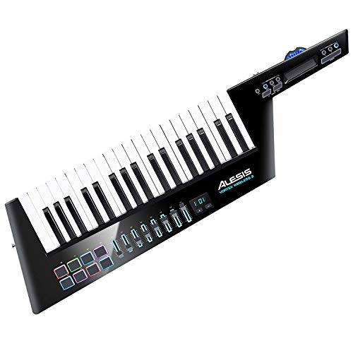 Alesis Vortex Wireless 2 Kabelloser Hochleistungs USB / MIDI Keytar Controller sowie einem professionellen Softwarepaket inklusive Pro Tools First