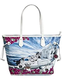 BORSA YNOT LARGE SHOPPING BAG J-356 WHITE cb2f9d3724a