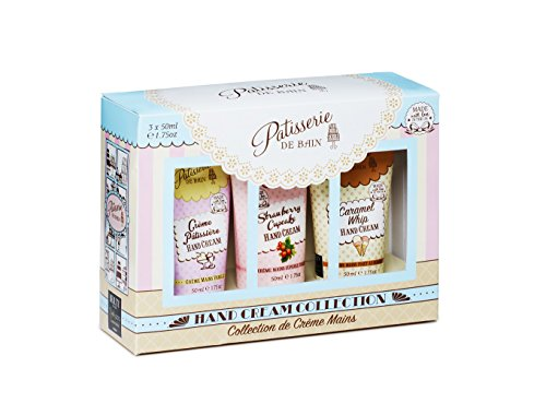 Rose & Co Hand Cream Tube 3pc Gift Crème Patissiere 150 ml