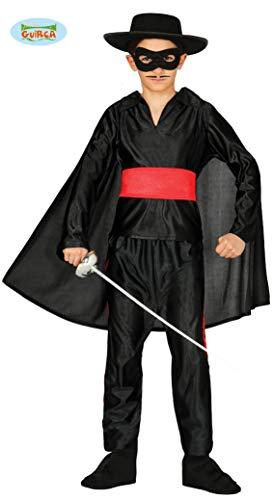Bandit - Kostüm für Kinder Gr. 98 - 146, Größe:128/134