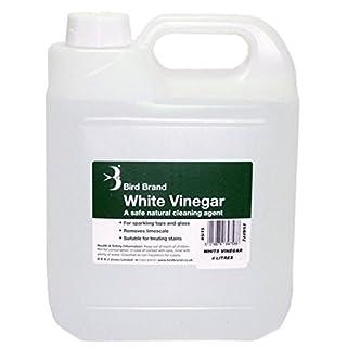 Bird Brand White Vinegar Cleaning Limescale Glass Cleaner Ultimate Stain Remover Wilsons Direct (4 Litre, 1 x White Vinegar)