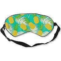 Natural Silk Eyes Mask Sleep Fruit Pineapple Blindfold Eyeshade with Adjustable for Travel,Nap,Meditation,Sleeping... preisvergleich bei billige-tabletten.eu