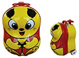 CEG Animal Trolley Valigia per bambini, 33 cm, 7 litri, Rosso