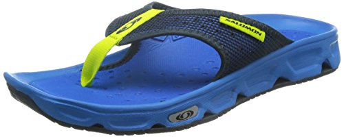 Salomon Herren RX Break Sport-& Outdoor Sandalen, Blau (Bright Blue/Union Blue/Gecko Green), 46 EU