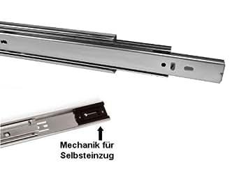 1 pi ce so tech glissi re de tiroir sortie totale 350 mm rrentrage automatique 45 kg capacit. Black Bedroom Furniture Sets. Home Design Ideas