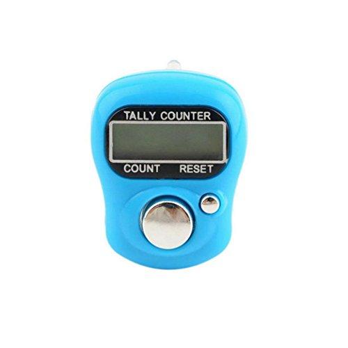 greatfun Finger Handzähler, Mini LCD elektronische Digital Display Finger Hand Tally Zähler für Golf, Schule & Sport (2St.) - Ring Detector Board