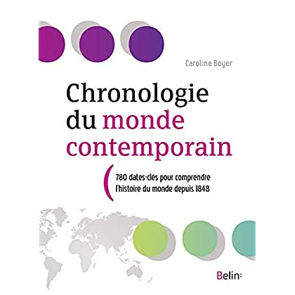 Chronologie du monde contemporain