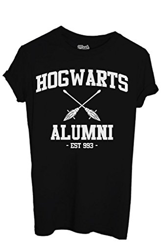 T-Shirt HOGWARTS ALUMNI HARRY POTTER - FILM by iMage Dress Your Style - Donna-S-NERA
