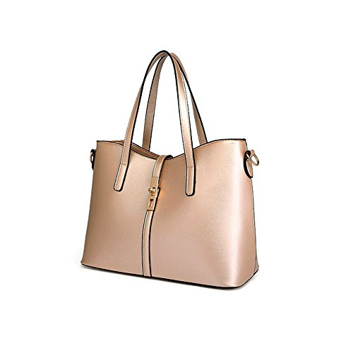 Anne, Borsa a spalla donna grigio White Earthly gold