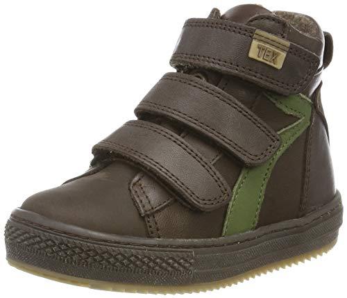 Bisgaard Jungen Eik Hohe Sneaker, Braun (Brown 302), 35 EU
