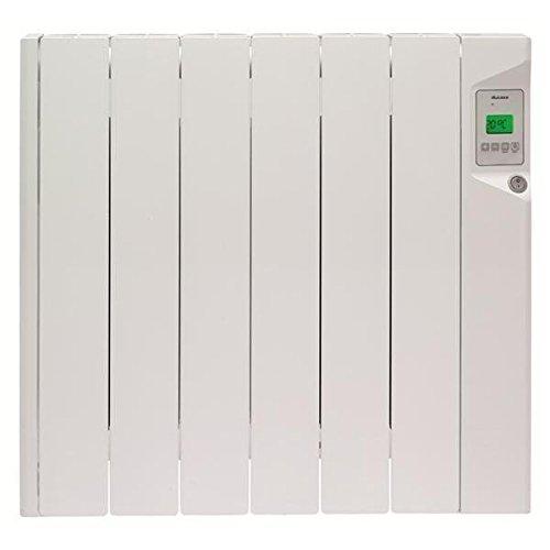 Radiateur électrique DUCASA - 0.636.269 Radiateur mural à fluide thermique - 900 W - Electronique - Aff.LCD - Fil pilote 6 ordre