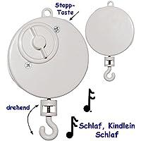 alles-meine.de GmbH Spieluhr - Schlaf Kindlein Schlaf - Wiegenlied - Lullaby - drehend & Zum A.. preisvergleich bei kleinkindspielzeugpreise.eu