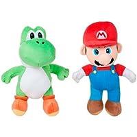 Play- Peluche Mario Yoshi Super Mario Bros 25cm. Modelo aleatorio