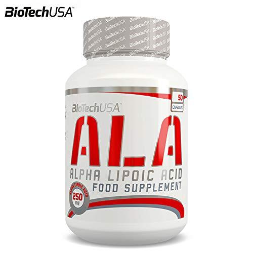 ALA 50 Capsules | ALA Alpha Lipoic Acid | Powerful Antioxidant | Helps Maintain Blood Sugar Levels