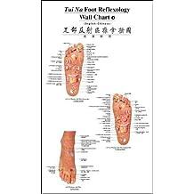 Tui Na Foot Reflexology Wall Charts (English-Chinese) / Tuina Fußreflexzonen Wandkarten (Englisch-Chinesisch)