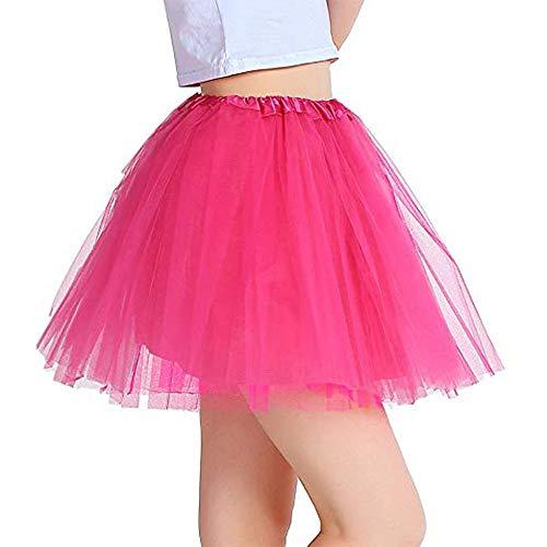 Vientiane Tutu Falda de Mujer Falda de Tul 80's