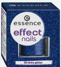 Essence Effect Nails Nail Art 3D turquoise Glitters 11 dans a Starlet