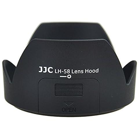 JJC - LH-58 - Pare-soleil équivalent Nikon HB-58 - pour Nikon AF-S DX NIKKOR 18-300mm f/3.5-5.6G ED VR