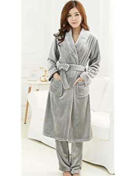 DMMSS femminile dolce pigiama Set due pezzi Sleepwear Set accappatoio , 7 , m