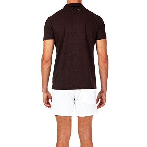 Vilebrequin - Solid-Polohemd aus Frottee - Herren Schokolade