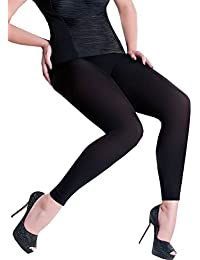 Legging grande taille opaque 100 deniers