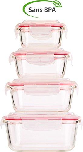 Botes-de-conservation-en-verre-avec-couvercles–clipser-x4
