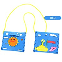L_shop Children Handmade Coin Purse Sewing Kids DIY Handmade Material Package Tools Boys Girls Sewing Project Kit